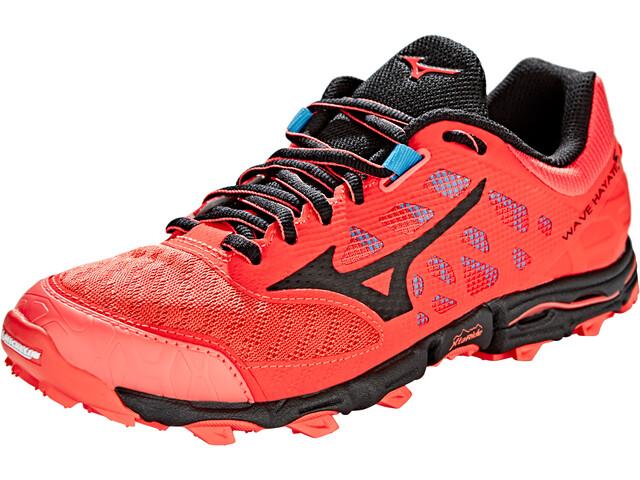 Mizuno Wave Hayate 5 Løbesko Damer pink/sort (2019) | Running shoes